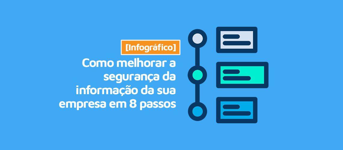 [Infográfico] Como melhorar a segurança da informação da sua empresa em 8 passos
